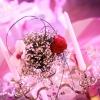 Chandelier fleurit