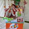 Urne à enveloppes thème cirque