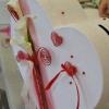 Atelier urne à enveloppes  Bordeaux blanche