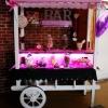 Candy bar lumineux cabaret