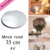 Miroir rond 35 cm