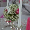 Mariage romantique fleurs naturelles