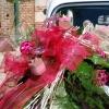 Détails du bouquet de la voiture