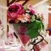 Vase martini de 70 cm