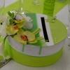 Urne verte et blanche