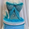 Urne corset turquoise 1