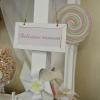 Détails du candy bar couleurs pastelles