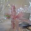 Mariage boules japonaises rose bleu vert