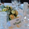 Centre de table fleurs naturelles