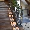 Escaliers du château de Vitry la Ville