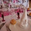 Décoration complète, mousse florale conçues en gâteaux