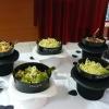 Les salades dans les chapeaux