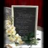 Le tableau du menu.