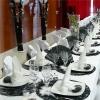 La table des mariés.