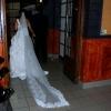 la mariée découvre sa salle