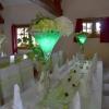 Vase martini et Led