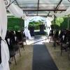 Le haut-vent et la structure de cérémonie