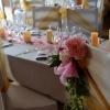 Bouquet de la chaise des mariés