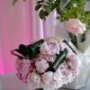 Bouquet de mariée en pivoines