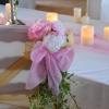 Bouquet pivoines et lierre
