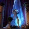 Mannequin, détail de la scène Miss Arcis sur Aube