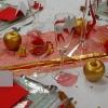 Détails table de Noël