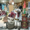 Vitrine Noël Russe