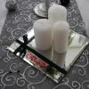 Miroirs noms des tables et bougies