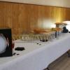 Le buffet du vin d'honneur