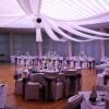 Les tentures, la salle