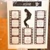 Plan de table thème M.Jackson et le Cinéma