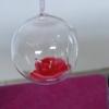 Détail d'une bulle de verre