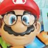 Super Mario, détail masque