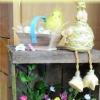 Caisses en bois décorée