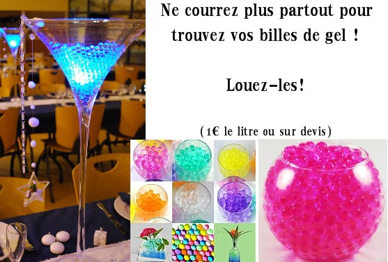 Billes de gel