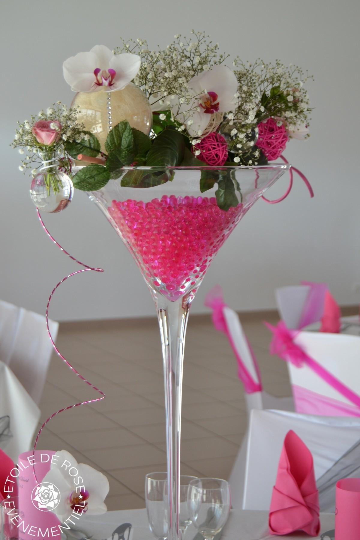 mariage fuchsia gris blanc etoile de rose. Black Bedroom Furniture Sets. Home Design Ideas