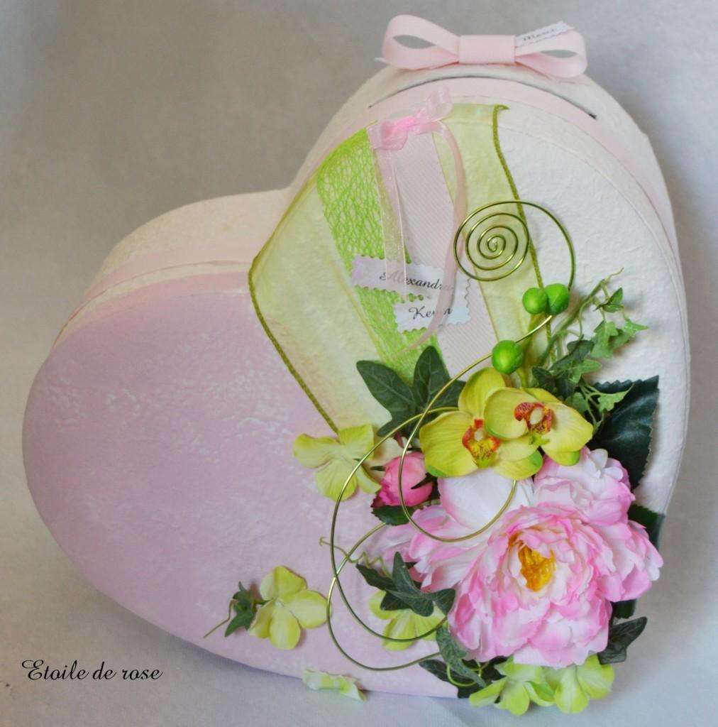 urne coeur rose et verte1