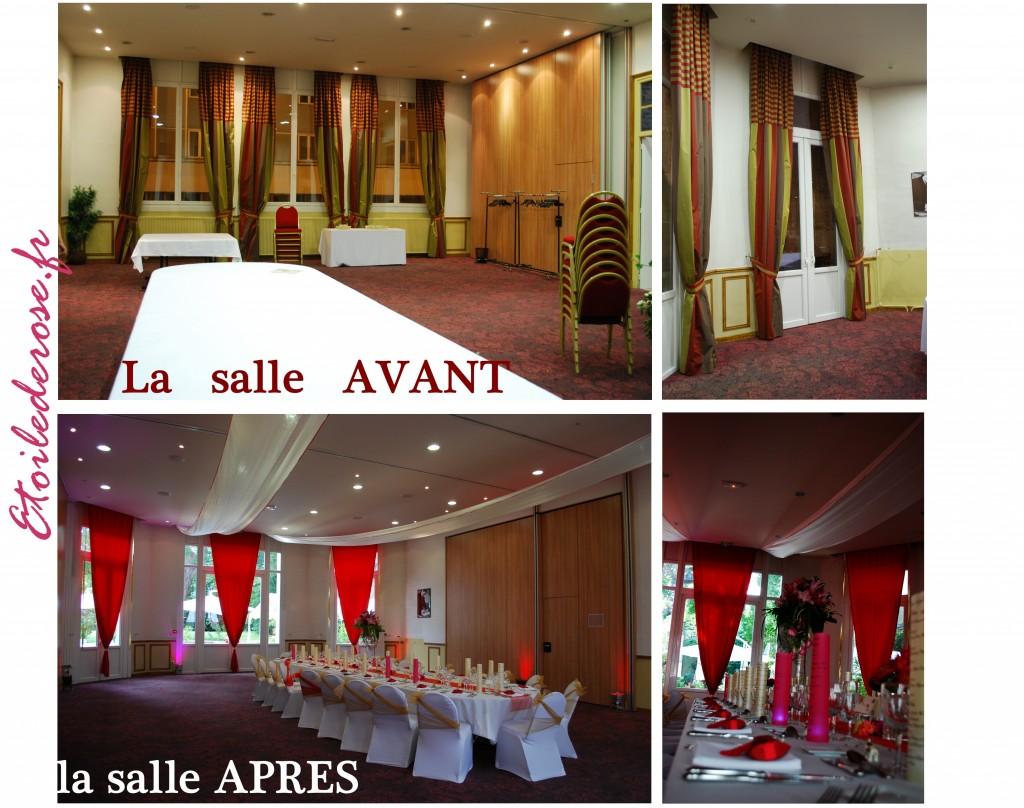 la salle avant et après