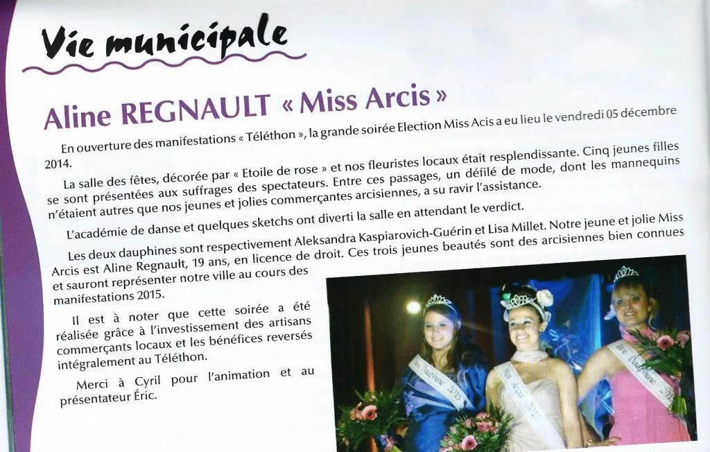 Article journal du Maire