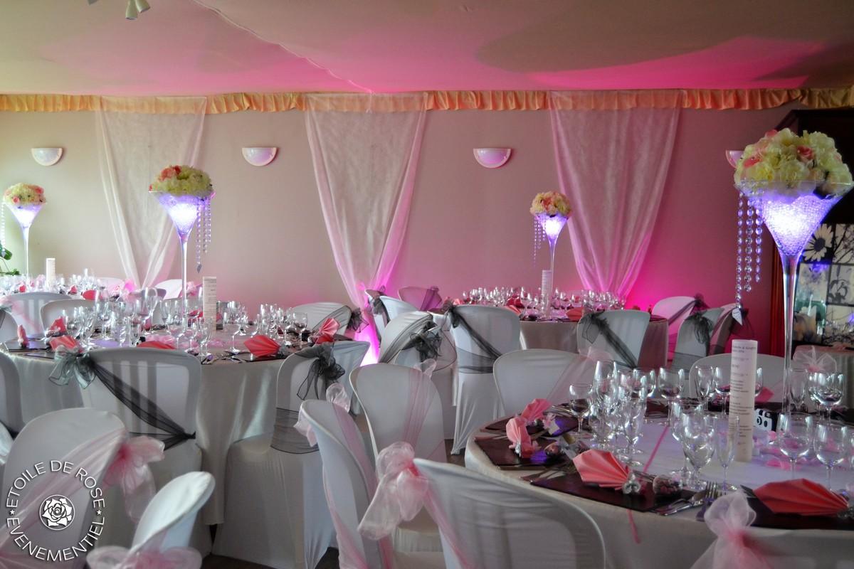 mariage en rose tendre et gris assiette la vall e de l 39 aube etoile de rose. Black Bedroom Furniture Sets. Home Design Ideas