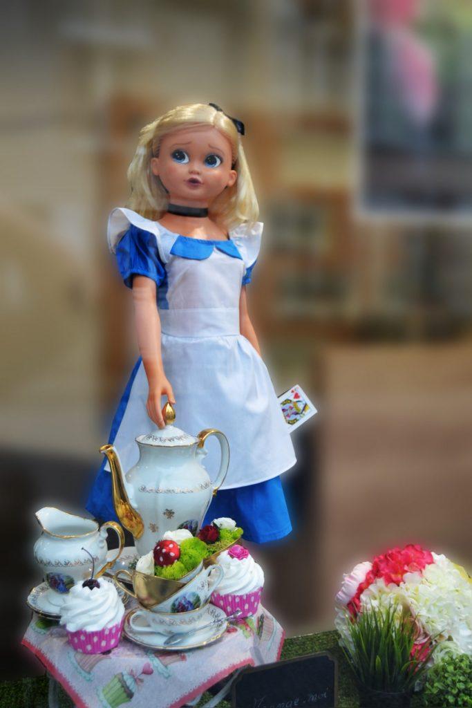 Vitrines Alice au pays des merveilles