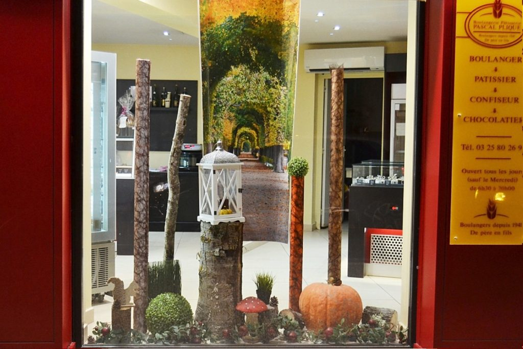 Decoration Automne Vitrine : Decoration vitrine automne perfect vitrines