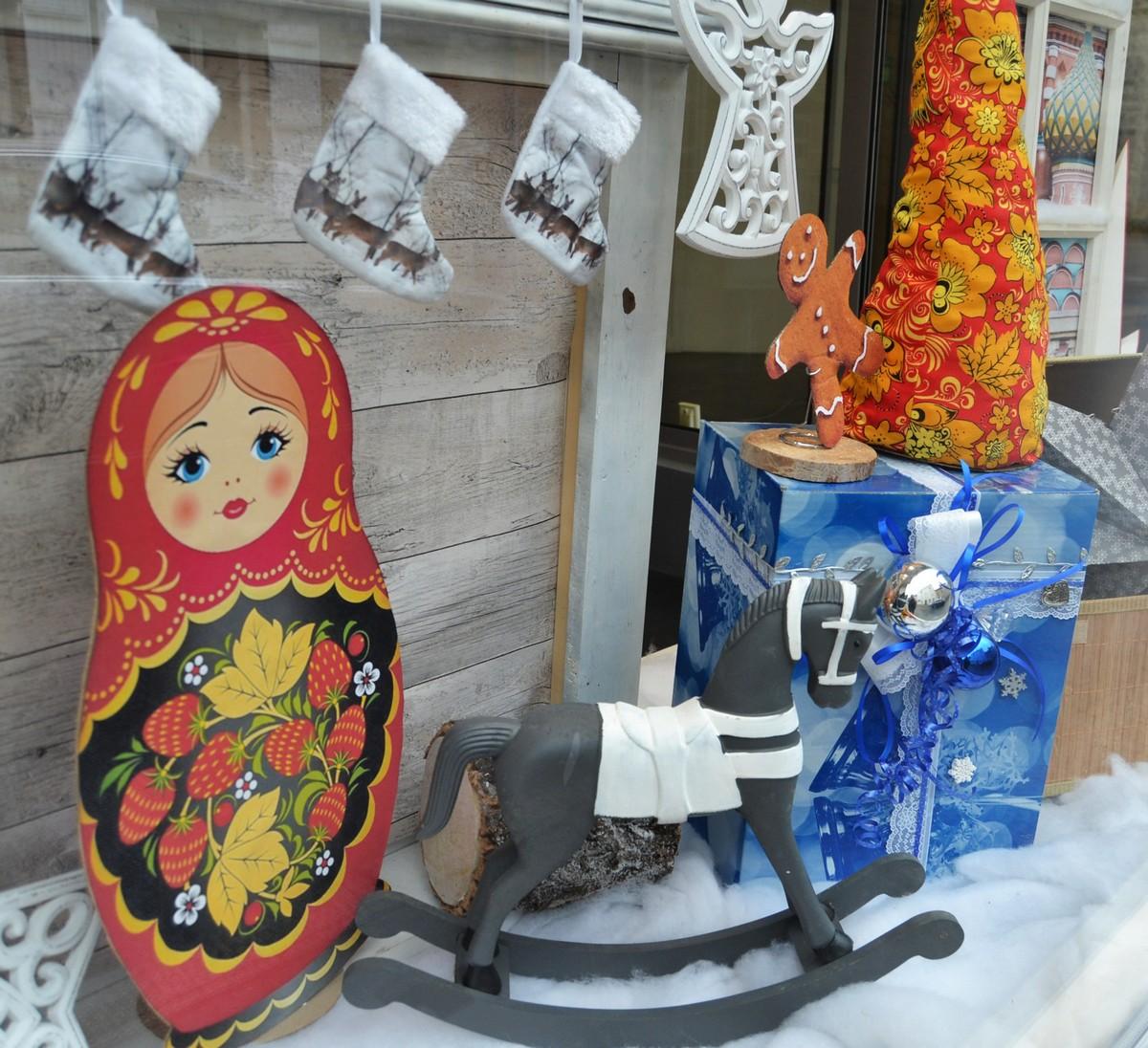 Vitrines Noël Russe