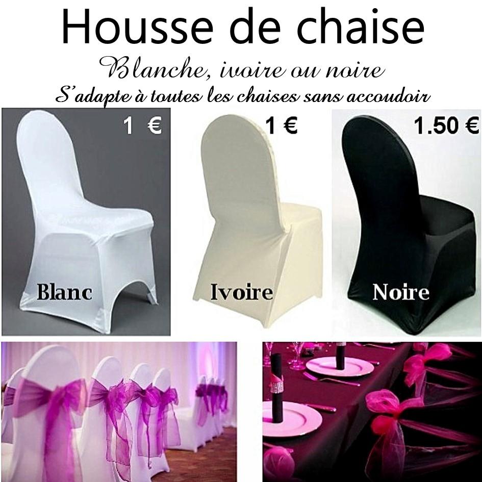 Location de housses de chaises