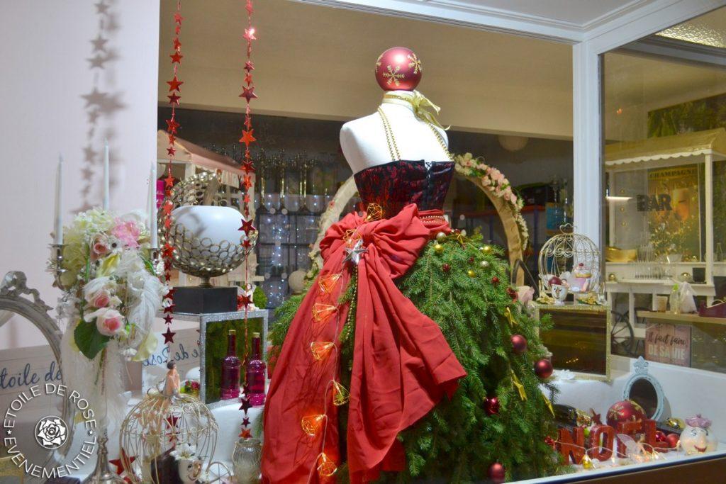 Robe de Noël en sapin